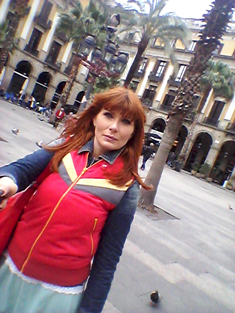 selfie Barcelona Rambla