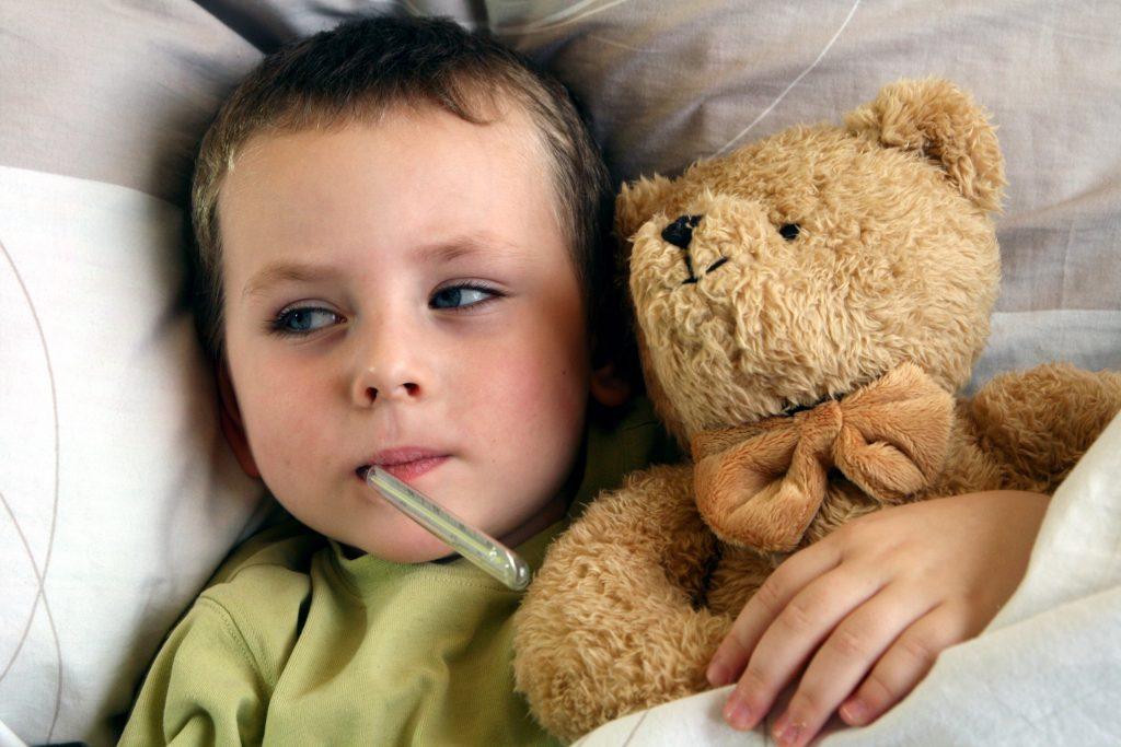 Flue and fever
