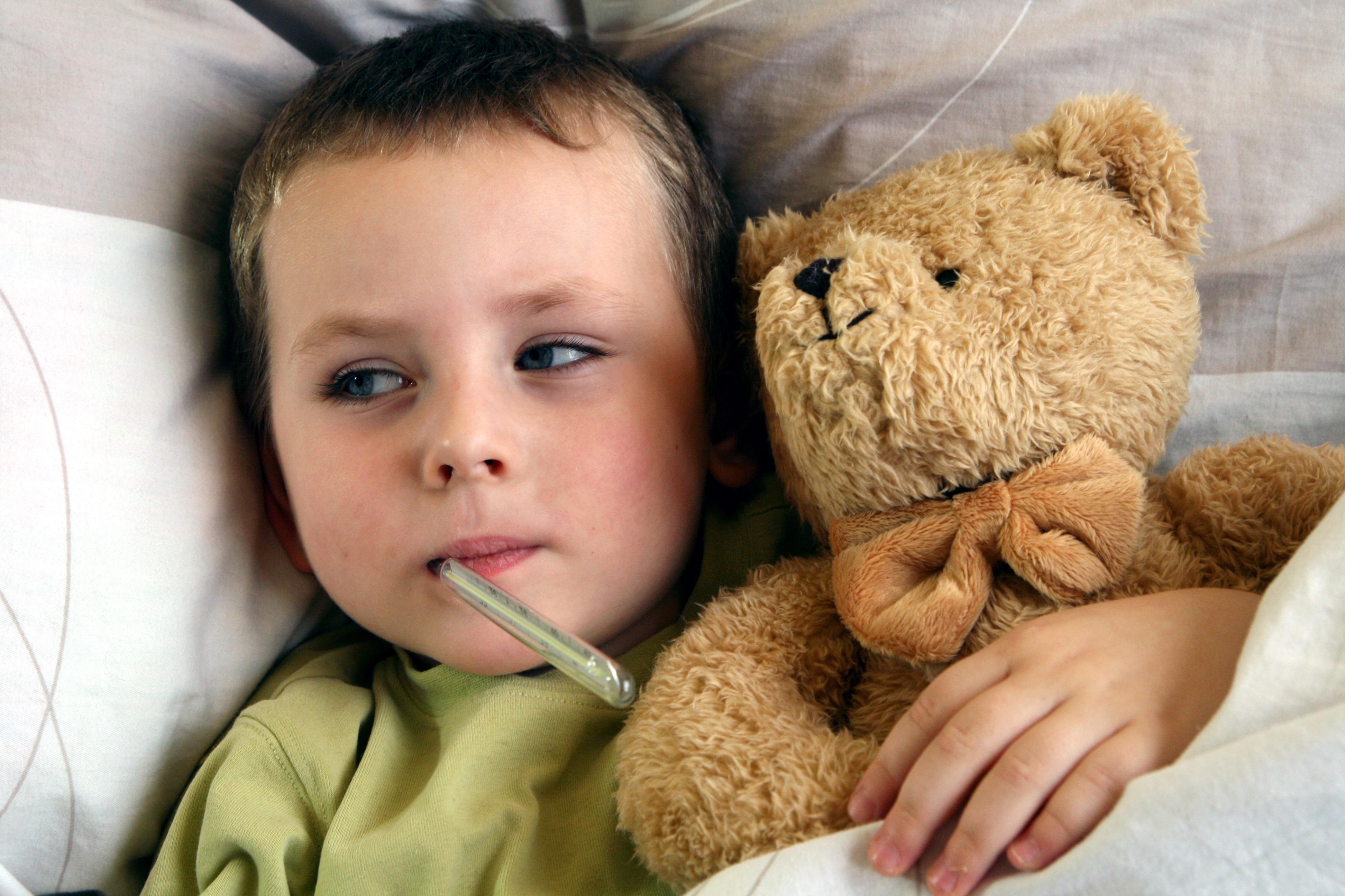 Antibiotic, boală grea