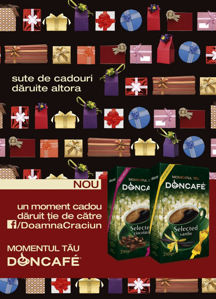 Doncafe Selected Vanilie si Doncafe Selected Ciocolata