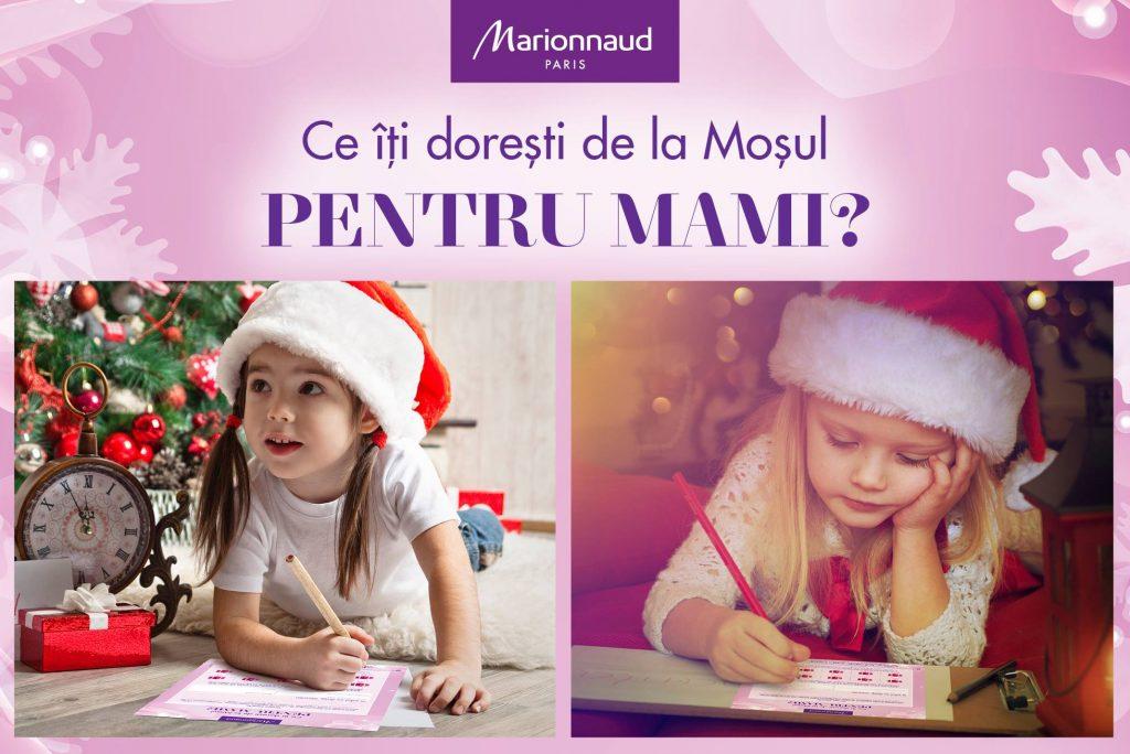 Scrisoare pentru mama Marionnaud