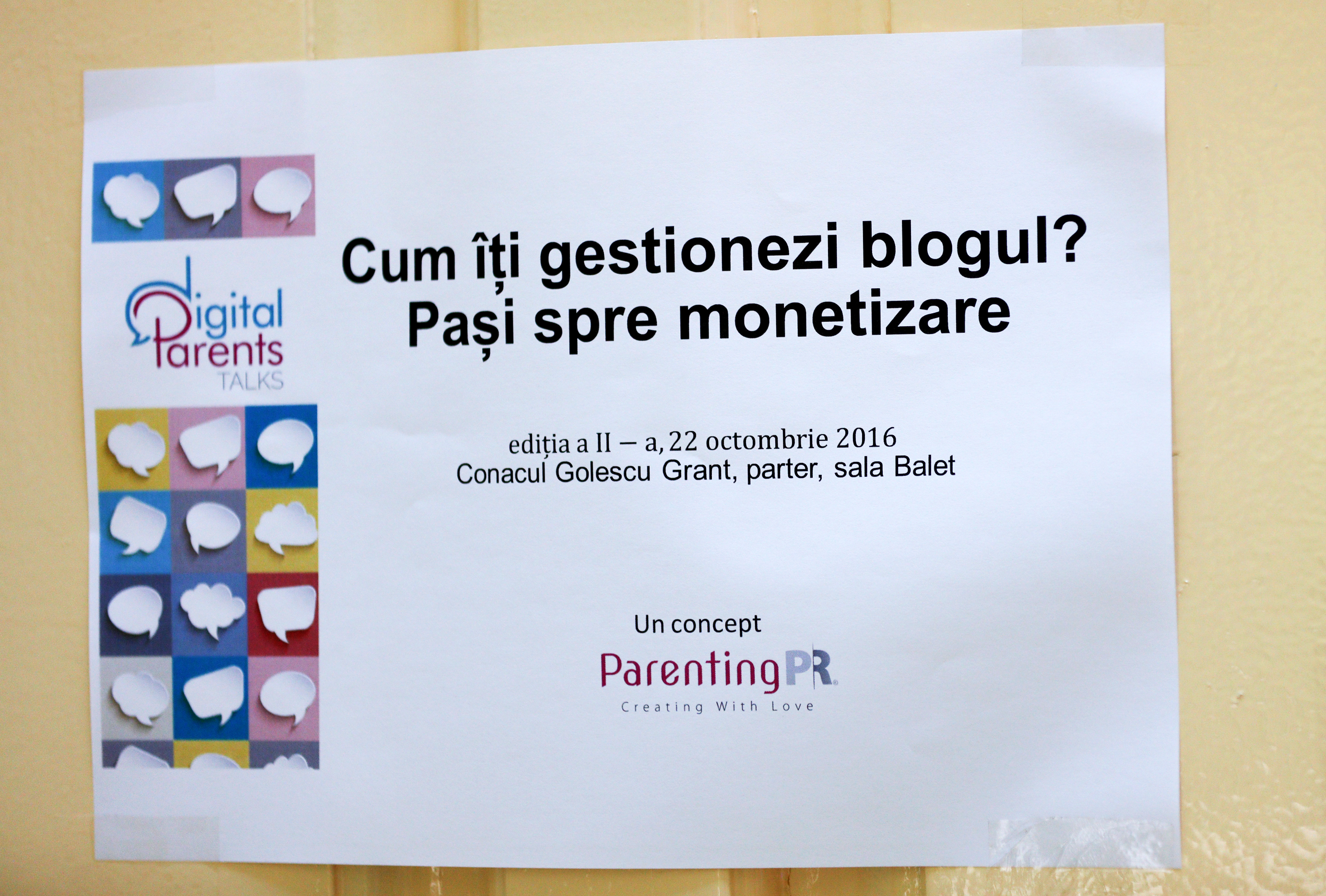 Digital Parents Talks monetizare blog brand
