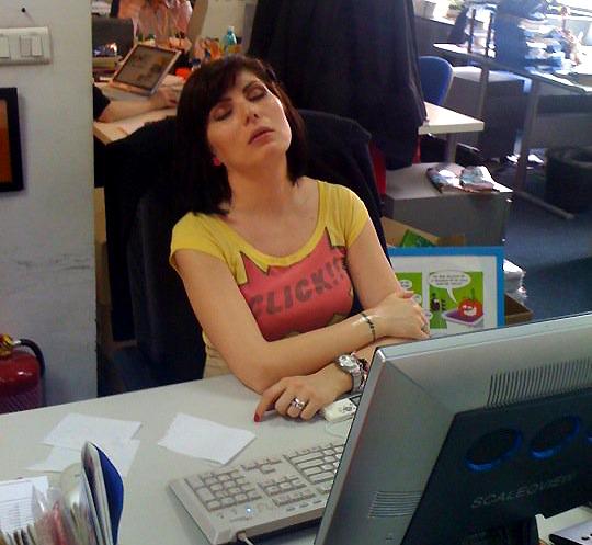 somn la birou powernap