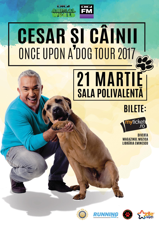 afis Cesar Millan Bucuresti