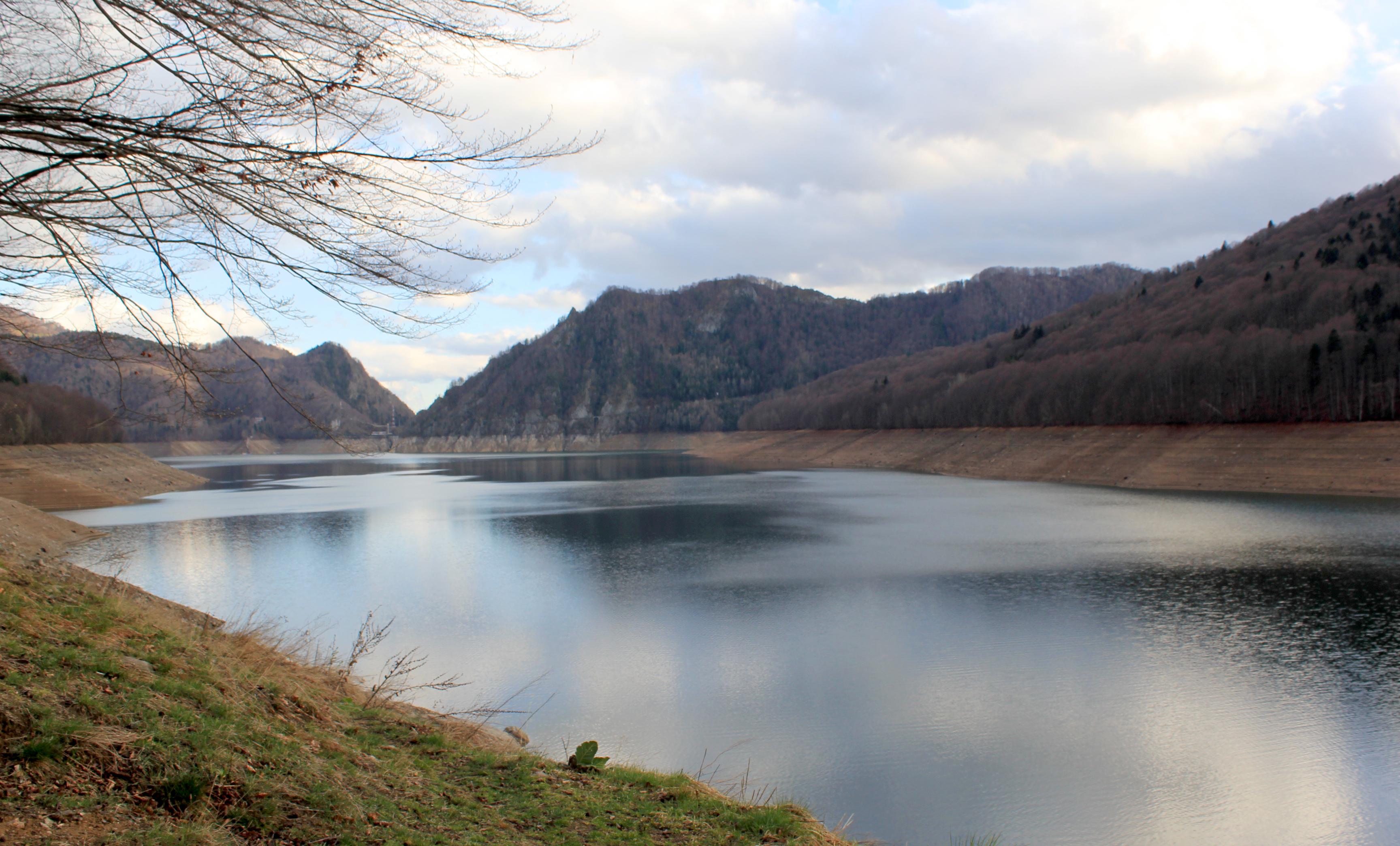 lacul vidraru valea cu pesti