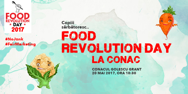 Food Revolution Day La Conac