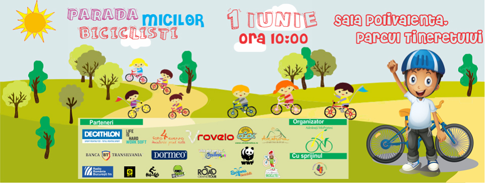 parada micilor biciclisti 1 iunie