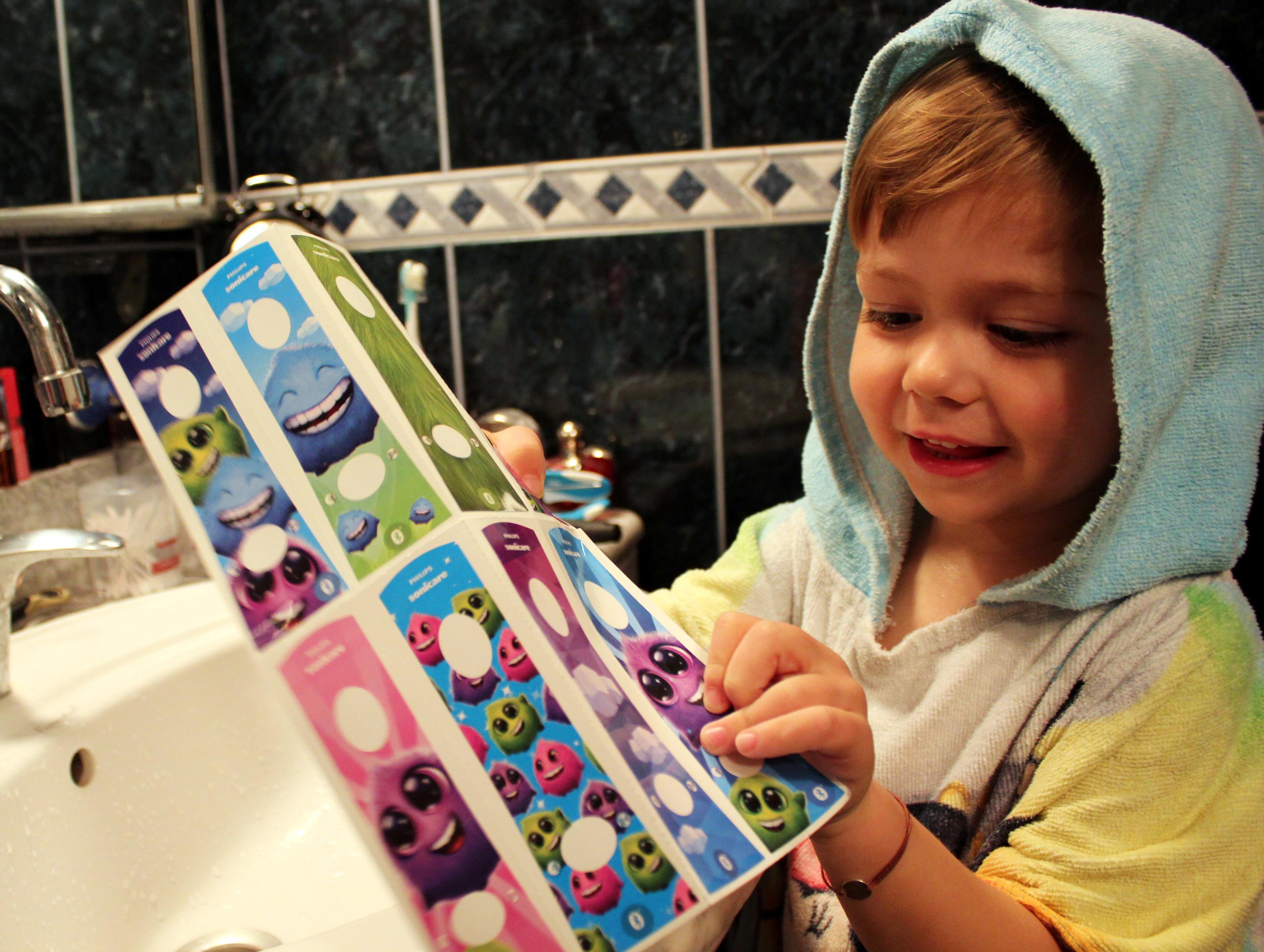 stickere periuta electrica Philips Sonicare for Kids