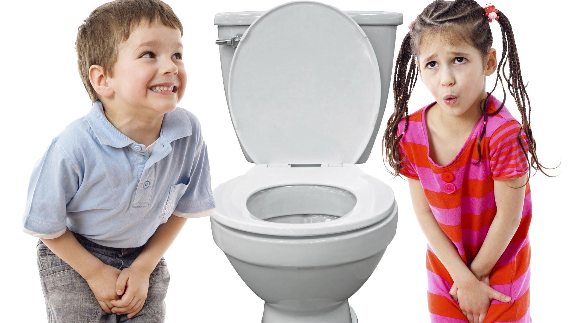 copii se abtin de la toaleta