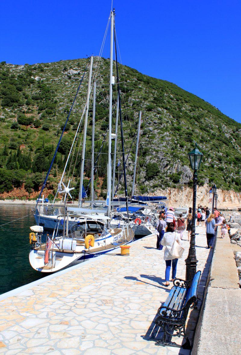 iaht port Frike Itaca Grecia