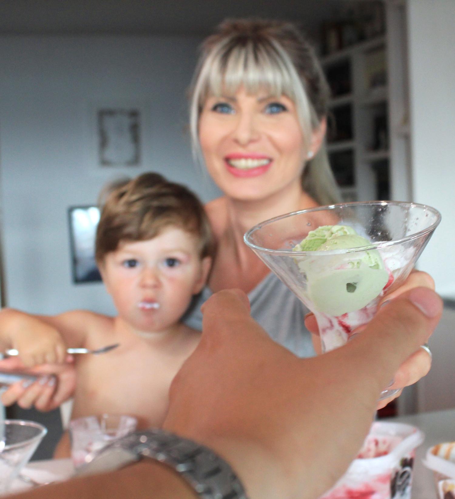 mama copil tata inghetata gelato siviero maria