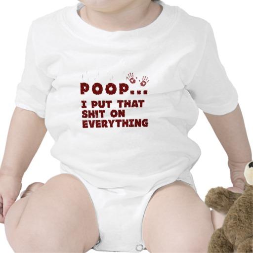 body bebelus mesaj amuzant caca