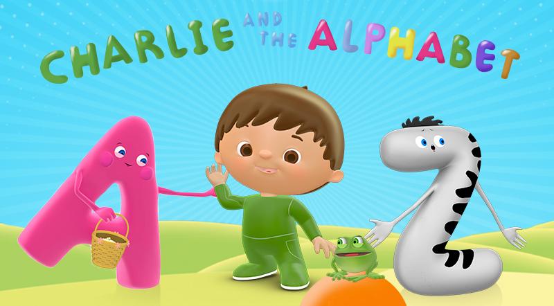 charlie & the alphabet babyTV