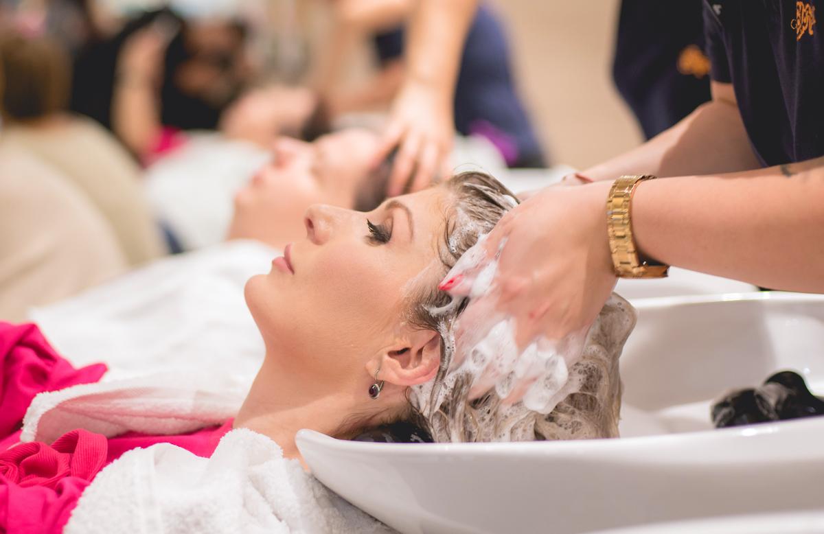 georgiana idriceanu Fudge Hair Treatment Time Machine scafa salon