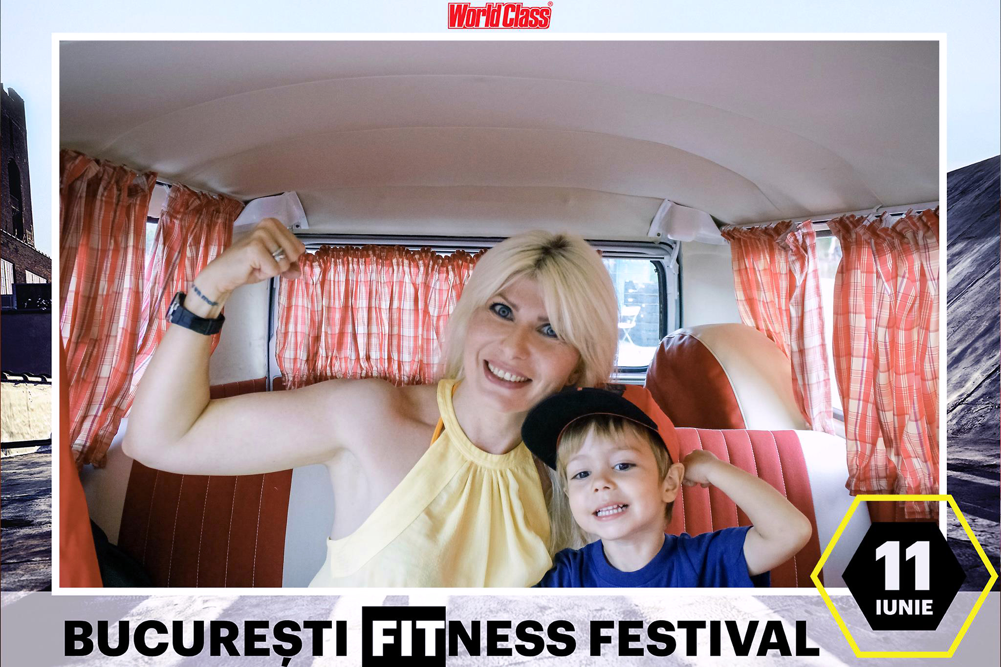 mama copil forta fizica biceps