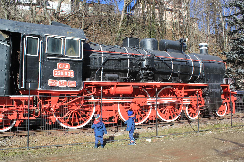 locomotiva aburi gara Sinaia