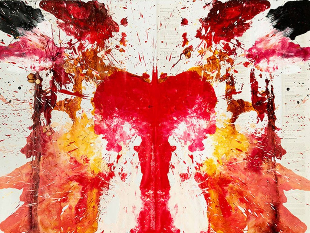 pictura suprarealista sange