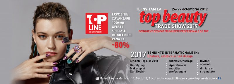 top beauty trade show top line
