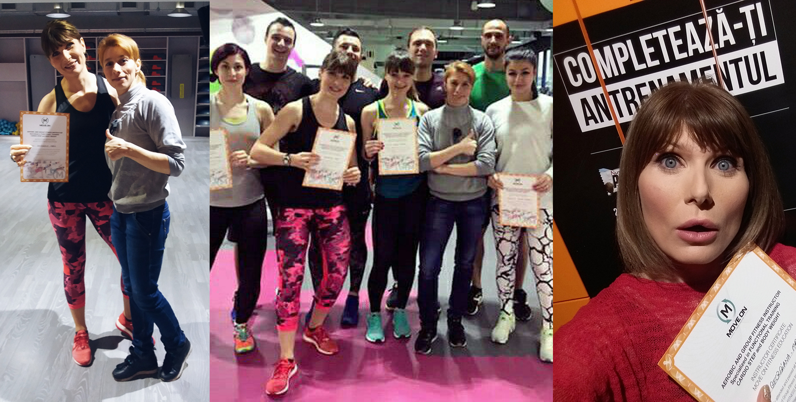 curs instructor fitness move on