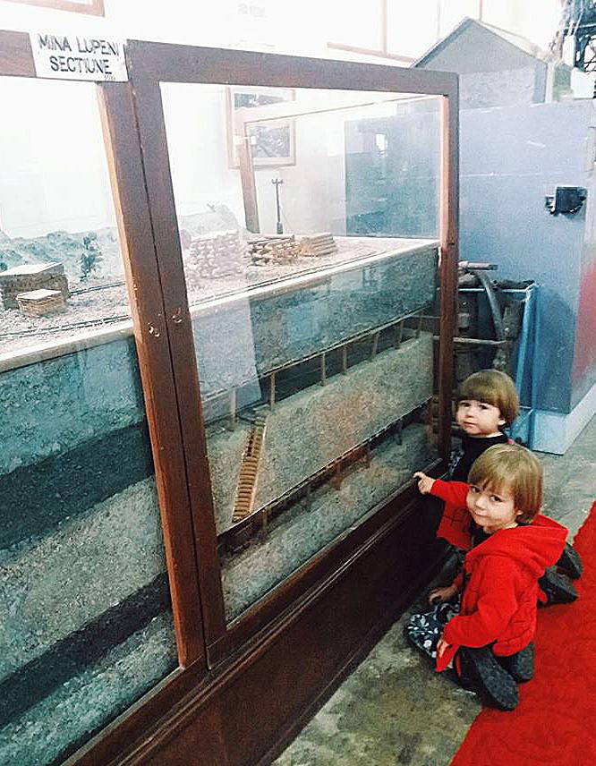 Muzeul Tehnic Dimitrie Leonida trenuri mina
