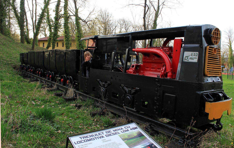 tren de mina arsenal park