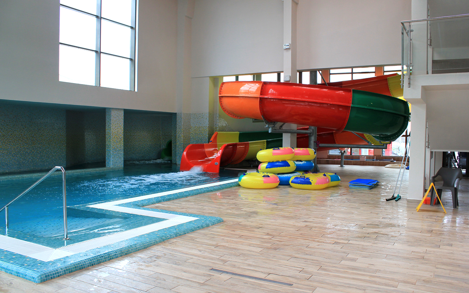 aquapark arsenal park tobogan