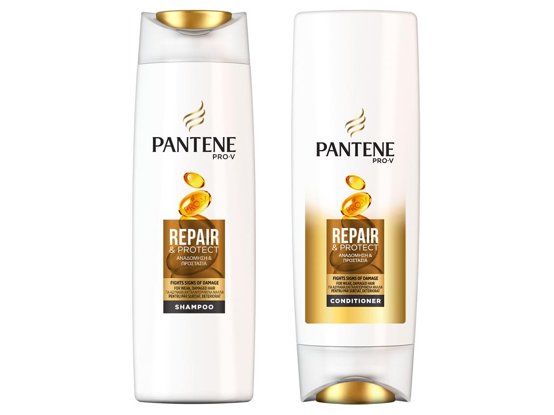 sampon balsam Pantene Repair lipide