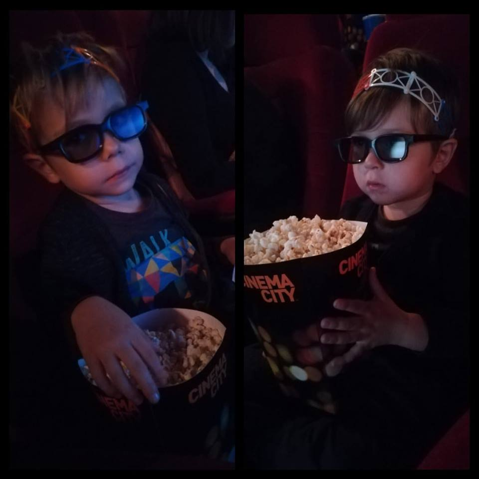 copii film 3D cinema city smallfoot