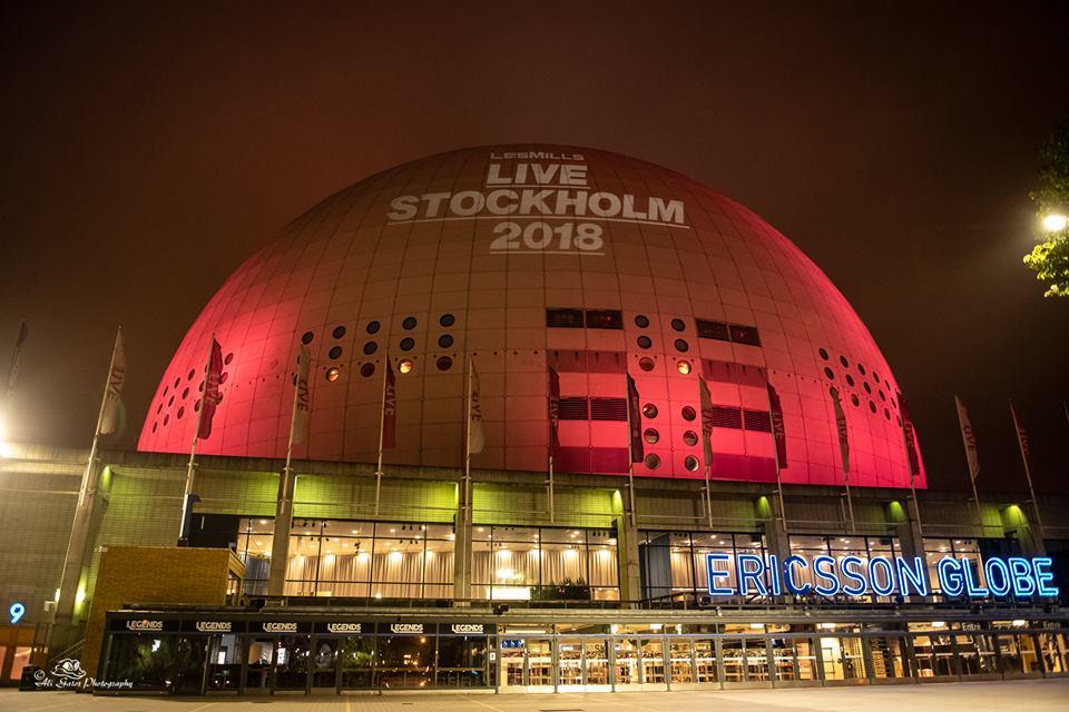 ericsson globe les mills live stockholm