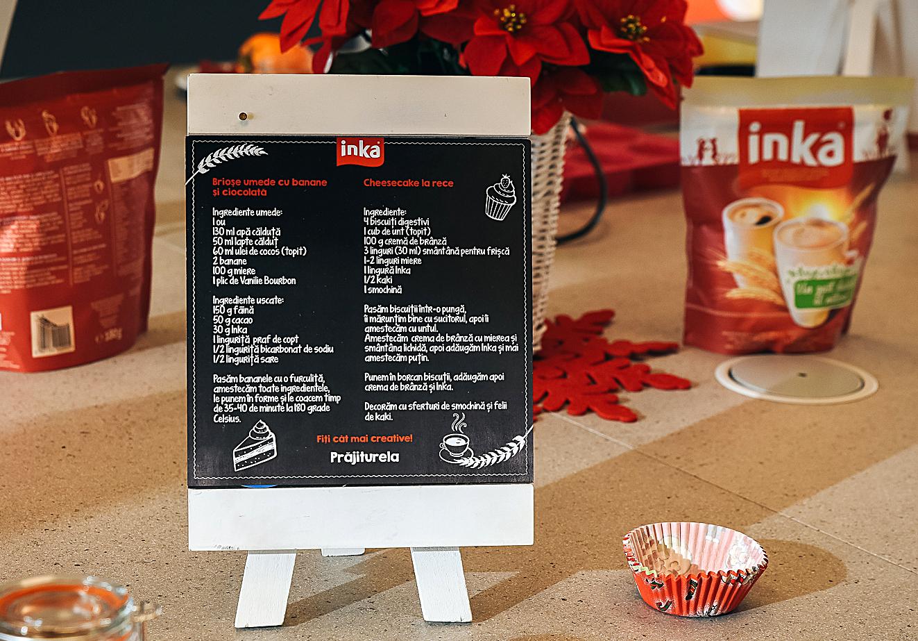 retete atelier gatit INKA briose cheese cake