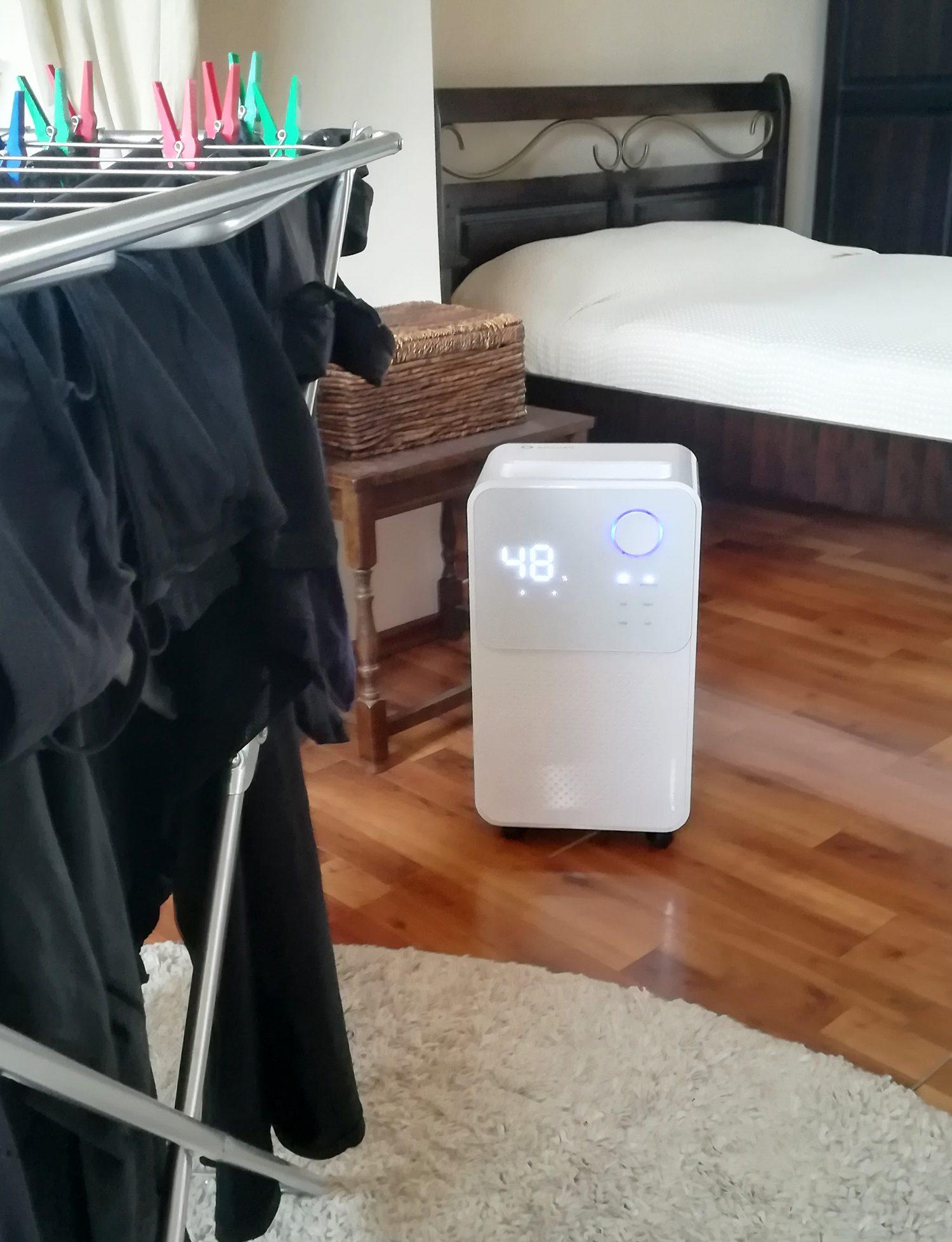 dezumidificator ALECO air functie uscare rufe