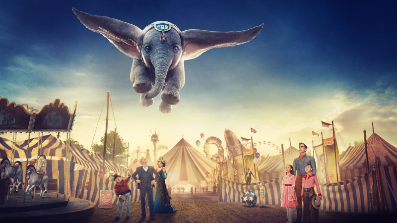 Dumbo zboara film