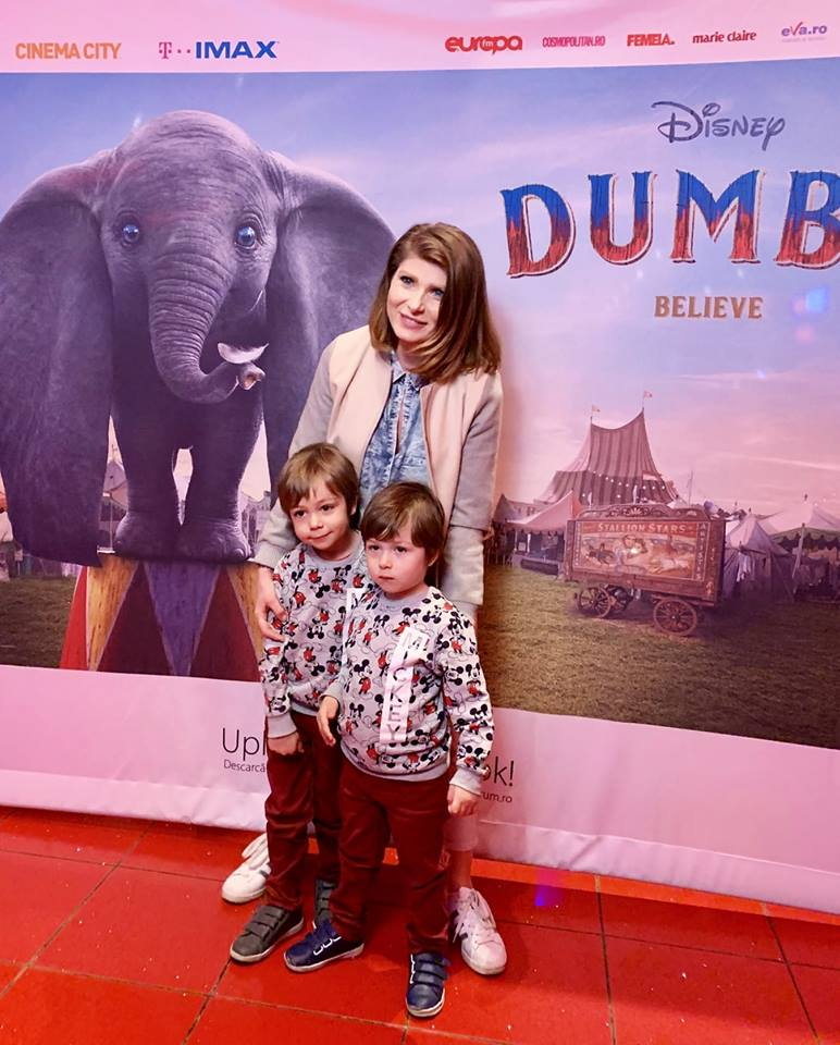 georgiana idriceanu copii film Dumbo