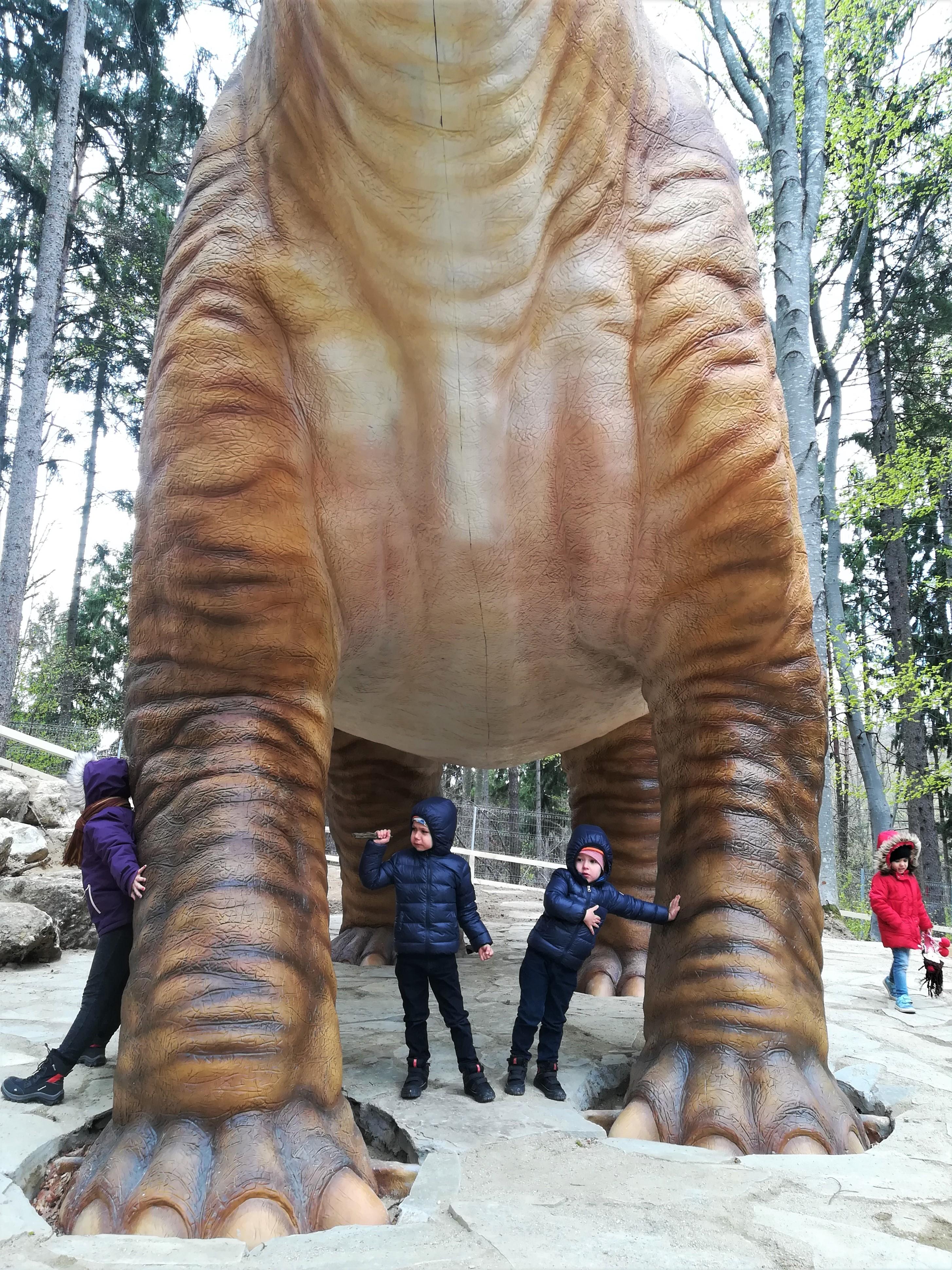 copii dino parc rasnov seismosaurus