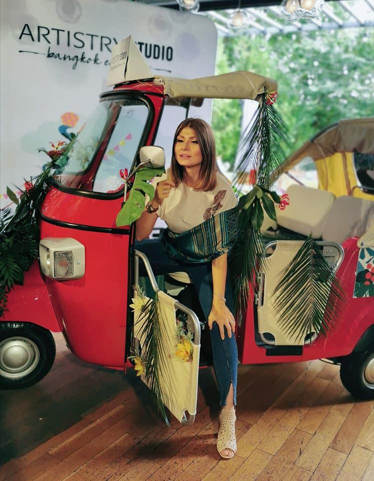 georgiana idriceanu artistry bangkok lansare tuk tuk