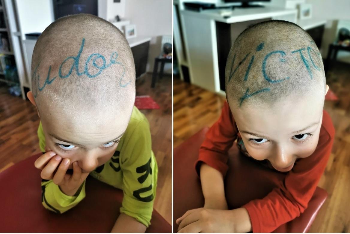 copii mazgaliti in cap carioca