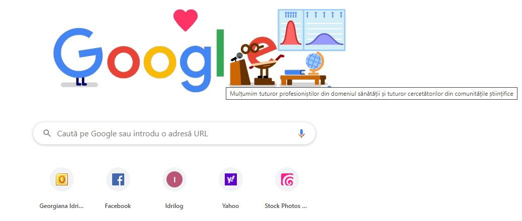 doodle google covid-19 pandemie