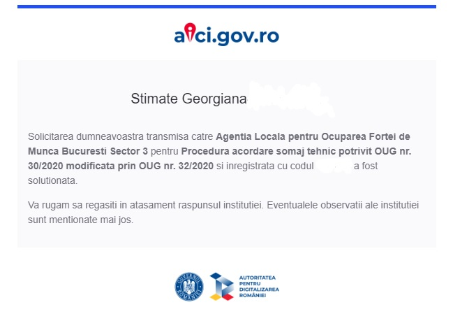 mail dosar somaj tehnic autoritatea digitalizarea statului