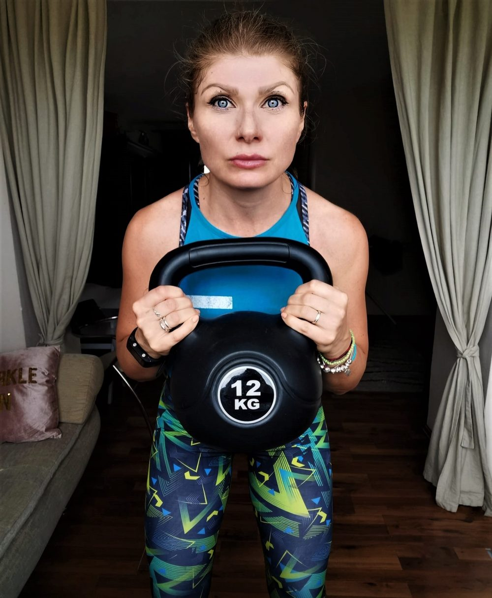 kettlebell training at home