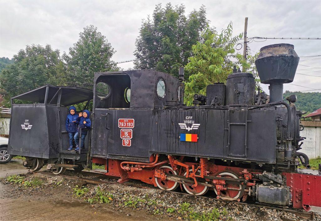 locomotiva aburi viseu de sus